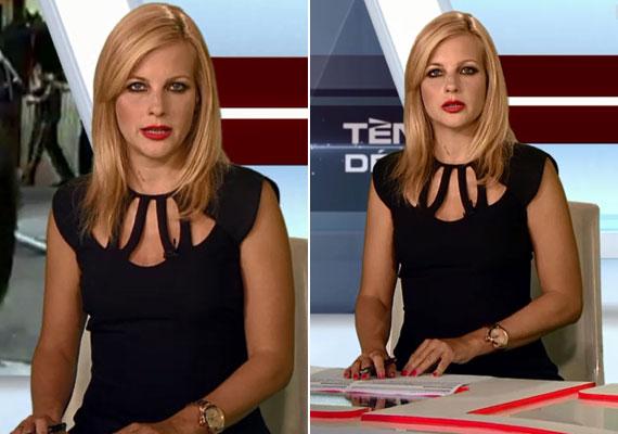 Várkonyi Andrea egy rafinált kis fekete ruhában nyűgözte le hétfő este a Tények nézőit. A TV2 híradósának tíz legszebb ruhájáért kattints ide »