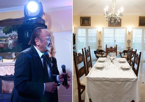 Mindenki tudja, hogy Balázs Klári és Korda György pazar villában élnek, ám a nagy nyilvánosságnak nem mutatták meg otthonukat - egészen a Hal a tortán forgatásáig. Kattints ide a Korda házaspár lenyűgöző villájáért »