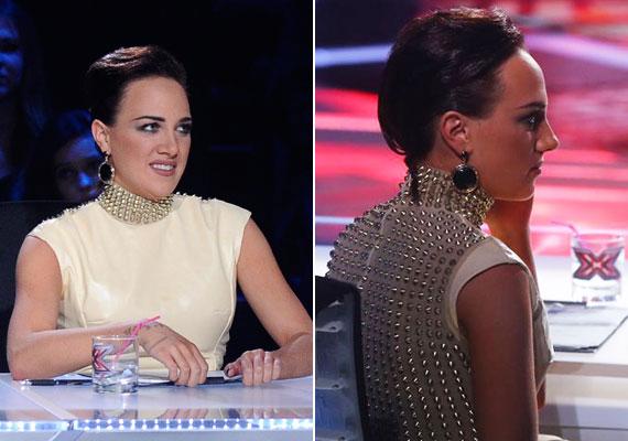 Az X-Faktor hetedik élő show-jában nem Tóth Gabi, hanem Danics Dóra villantott, a női mentornak ezúttal előnytelen frizurájáról cikkeztek a lapok. Még több fotóért kattints ide »