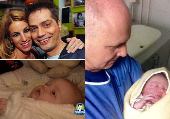 Megszületett az ATV műsorvezetőjének, Rónai Egonnak a negyedik gyermeke, a kicsi Dorkával el is dicsekedett a Facebookon. Harsányi Levente pedig a két hónapos Lilla Boglárkát mutatta meg egy tévéműsorban, a 44 éves tévésnek ő a második gyermeke.