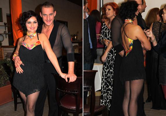 Varga Izabella is a táncos show versenyzői között található. A Barátok közt visszafogott öltözködési stílusú Nórájaként ismerte meg az ország, azért is keltett nagy feltűnést a sajtótájékoztatón, ahol rövid táncruhában libbent a kamerák elé.