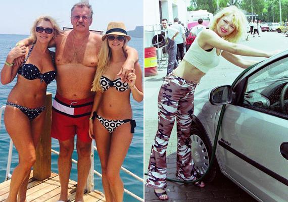 Nyertes Zsuzsa decemberben ünnepli 57. születésnapját, ám alakján nem fog az idő. A szőke színésznő a családi fotón és vagány, autómosós szerelésében is irigylésre méltón fest.