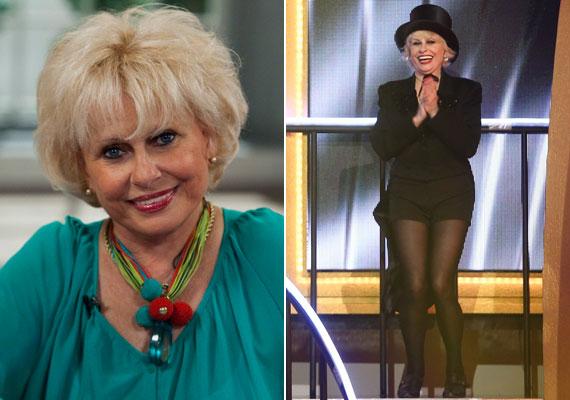 A 72 éves Esztergályos Cecília csípőproblémákkal küzd évek óta, ám jókedvét ez sem szegheti. A színésznő valószínűleg pozitív életszemléletének is köszönheti, hogy ilyen ragyogóan néz ki. Mesés lábait 2013-ban, amikor a Szombat Esti Láz zsűritagja volt, csak csodálni tudtuk.