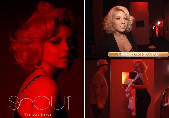 Tolvai Renáta a szakítást énekli meg legújabb, a Shout című dalához készült videoklipjében, melynek forgatására az Aktív című műsor stábja is elkísérte.