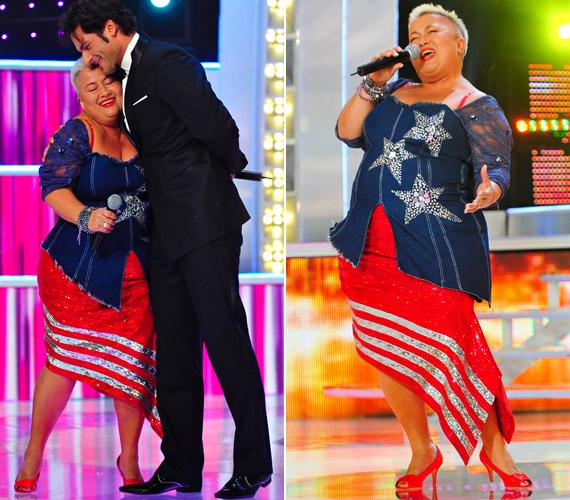 Falusi Mariann az utóbbi hónapokban közel 30 kilótól szabadult meg, a színpadon egyenesen kivirágzott - egy titokzatos udvarlót is szerzett magának.
