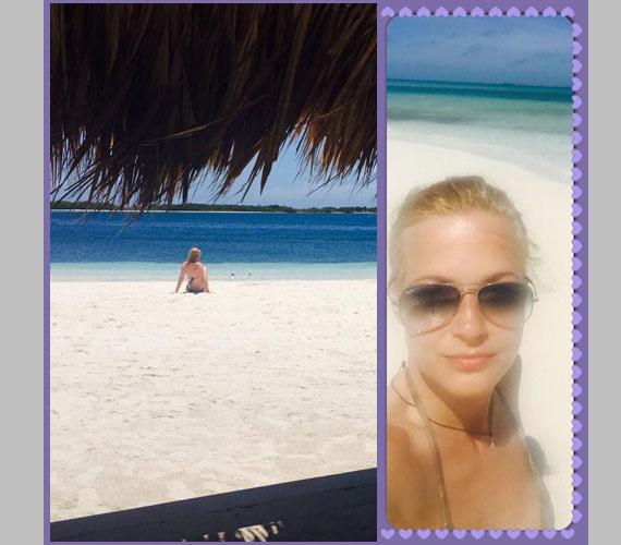 A 40 éves Várkonyi Andrea pár héttel ezelőtt Venezuelában vakációzott, ahonnan kivételesen megosztott magáról néhány bikinis fotót is - de a képen láthatóaknál többet nem mutatott magáról.