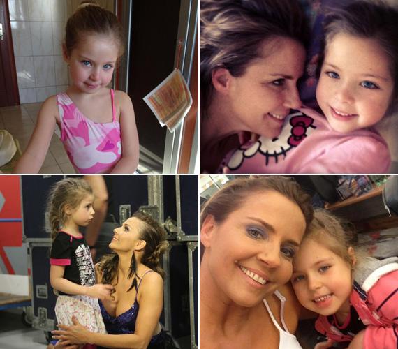 Bálint Antónia 2007. augusztus 22-én csaknem tízórás vajúdás után hozta világra Lilien Antóniát. A szőke, kék szemű kislány kiköpött az édesanyja.