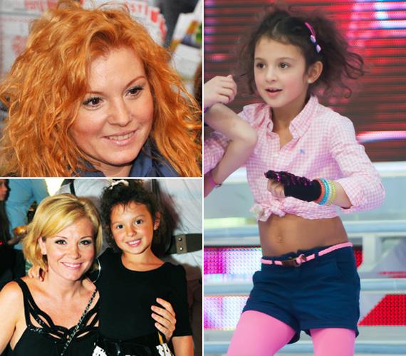 Liptai Claudia még nála is több, 17 órás vajúdás után szülte meg Panna Sárát 2006. július 16-án. A kis Gesztesi Panka édesapjára is hasonlít, de göndör fürtjeit nyilvánvalóan színésznő-műsorvezető édesanyjának köszönheti.