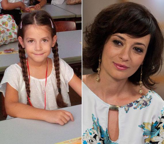 """""""Igen. Bőgtem. Van nekem két iskolás gyerekem"""" - Farkasházi Réka színésznő kislánya, a hatéves Rebeka is iskolás lett."""
