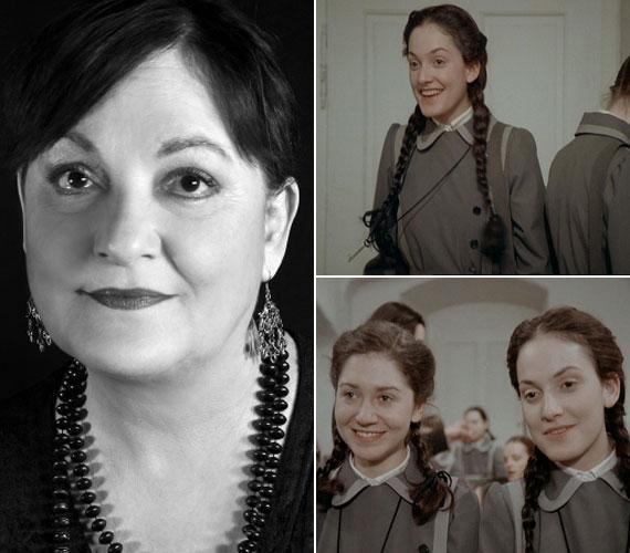 A 60 éves Egri Kati a cserfes Bánki Anna szerepében tűnt fel a legendás sorozatban.