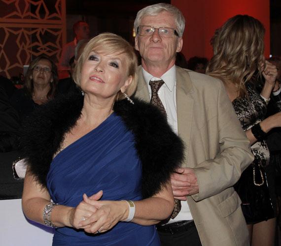 Férjével, Horvai Mátyás üzletemberrel vett részt a partin, akivel már 20 éve együtt élnek, és több mint tíz éve házasok.
