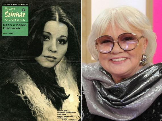 Almási Éva fiatalon még sötét hajjal hódított számos filmben. A színésznő 1942. június 5-én született.