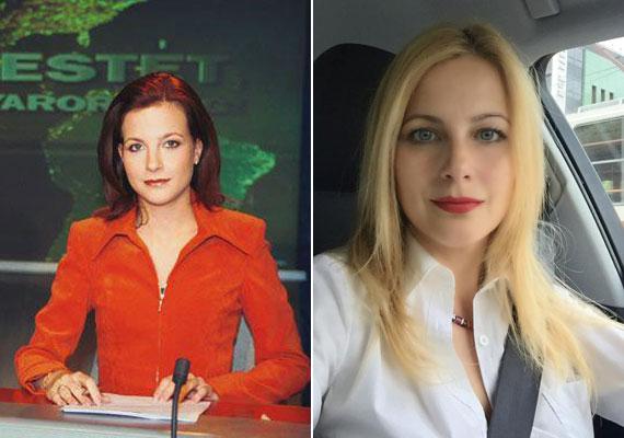 A Tények híradósának, Várkonyi Andreának haja is volt vörös, a felvétel 2002-ben, a Jó estét, Magyarország! című műsorban készült. Már jó ideje világos szőke.