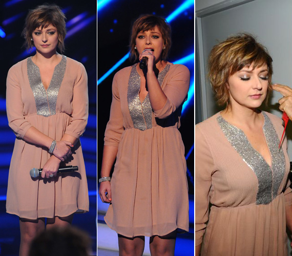 Lass Beát is pasztellszínben küldték ki a színpadra. A negyedik élő show kiesőjéről még Geszti Péter is megjegyezte, hogy még soha nem volt olyan szép, mint szombat este.