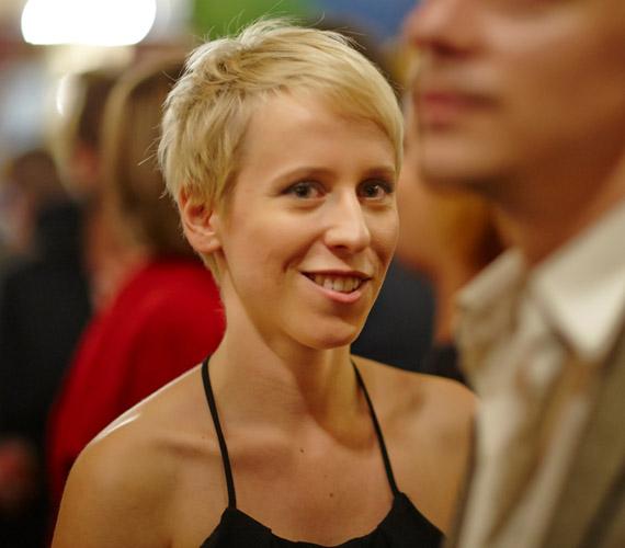 Zomborácz Virág, az Utóélet rendezője.