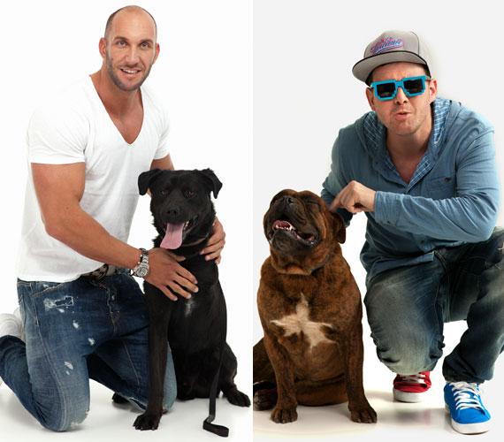 Az egykori Fradi-vezér, Berki Krisztián és az énekes Flour Tomi is szívén viseli a magukra hagyott állatok sorsát.
