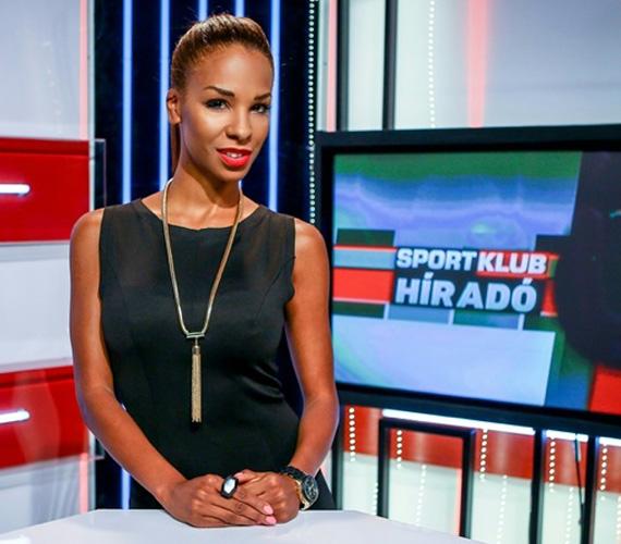 Aryee Claudia Dedei, a Királynő különdíjasa és a Miss Afro Hungary győztese augusztus 4-től vezeti a SportKlub naponta jelentkező híradóját.