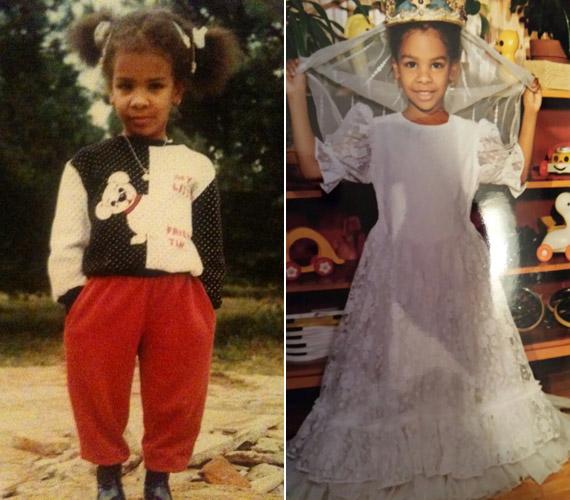 Gyerekkora óta a ruhák szerelmese. Mint minden kislány, ő is szeretett hercegnőnek öltözni, és még a sportos ruhákban is csajos volt.