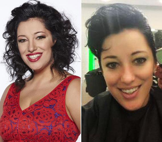 Baby Gabi hosszú évek óta hosszú, fekete hajat viselt, de a Sztárban sztár című műsor az átalakulásai úgy megtetszettek neki, hogy úgy döntött, megújítja külsejét.
