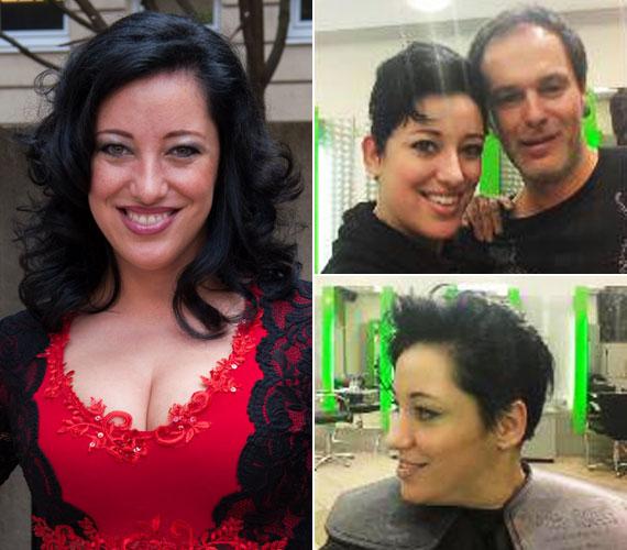 Az énekesnő a Facebook-oldalán mutatta meg, milyen lett az új frizurája. Neked hogy tetszik? Jó döntés volt levágatnia a haját?