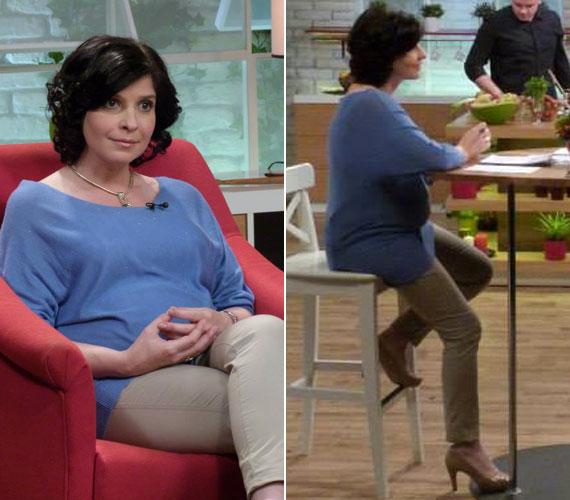 Dióssy Klári, az MTVA műsorvezetője február elején élő adásban, a Család-barát című magazin hatodik születésnapján jelentette be, hogy 16 hetes terhes, és kislányt hord a szíve alatt.