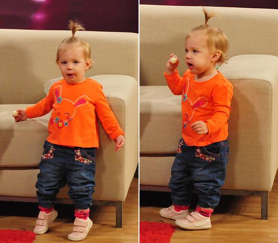 A megasztáros álompár boldogsága akkor lett teljes, amikor 2011. július 4-én megszületett kislányuk, Róza Anna.