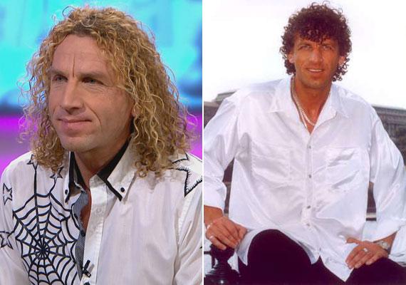 Balázs Pali 1996-ban romantikus dalaival robbant be a magyar zenei életbe. Az énekes frizurája két évtized alatt nem sokat változott, a súlyát is tartja 15 éve.
