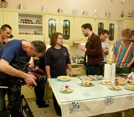 A konyha, ahol Klárika előkészítette az ételeket vendégeinek.