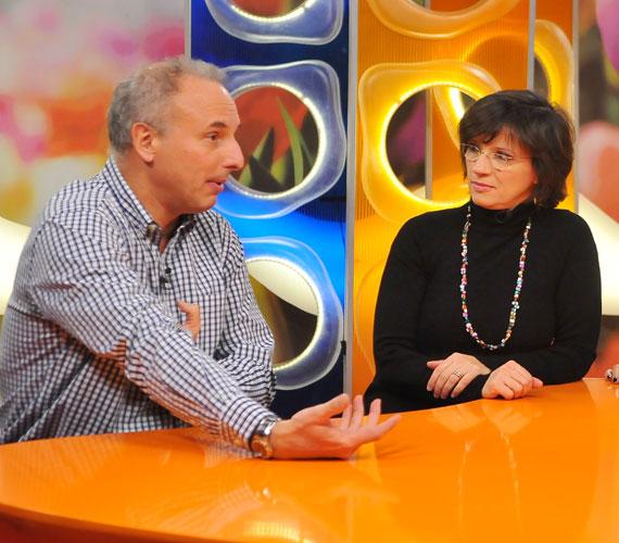Egy adás erejéig újra vissztért az RTL Klub képernyőjére.