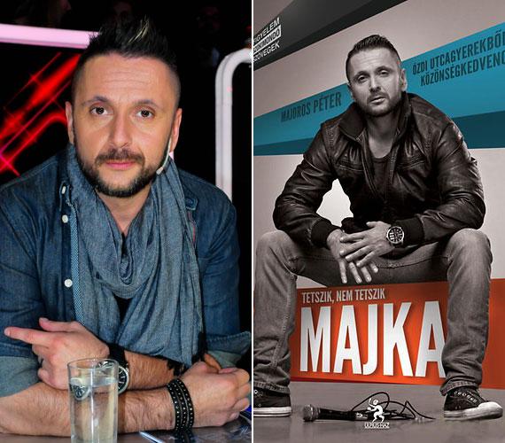 Tetszik, nem tetszik, MAJKA című kötetben a szabadszájú rapper még a Kiss Ramónával közös szextitkait is kiteregette.