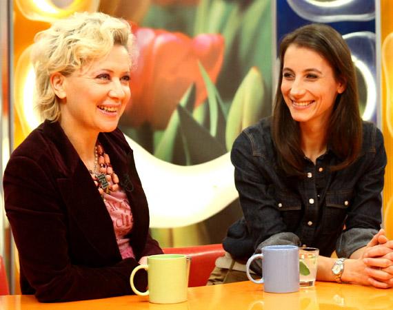 Az RTL Klub stúdiójába Eszenyi Enikővel érkezett.