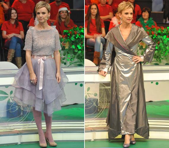 Jakupcsek Gabriella a Magyarország, szeretlek! karácsonyi, illetve szilveszteri adásában két különleges ruhát viselt - utóbbiban szerepelhetett volna a Harry Potter-sorozatban is.