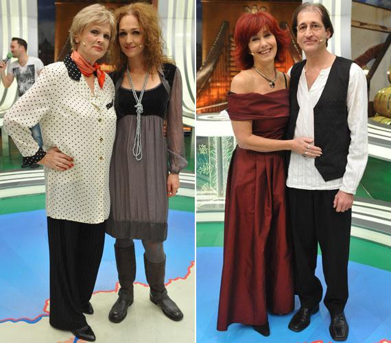 A családtagokat felvonultató adásban Tordai Teri és lánya, Horváth Lili, valamint a színész házaspár, Szalay Krisztina és Cserna Antal is látható volt.
