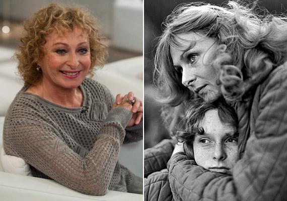 Bánsági Ildikó az M1 délutáni beszélgetős műsorában és a Napló gyermekeimnek című filmben - kevesen mondanák meg róla, hogy pár nap múlva 67 éves lesz.