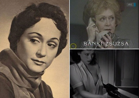 Bánki Zsuzsa volt a második színésznő, aki kamerák előtt mutatta meg bájait, igaz, ezt egy véletlen balesetnek köszönheti: az 1945-ben forgatott Valahol Európában című filmben a színésznő kebléről az egyik statiszta véletlenül lerántotta a ruhát. A rendezőnek, Radványi Gézának annyira megtetszett a pillanat spontaneitása, hogy végül ezt a képet vágta be az alkotásba.