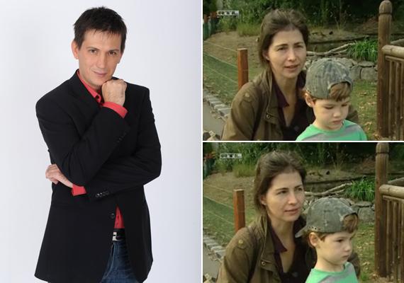Domokos László kedvese Tóth Ildikó színésznő, a párnak pedig van egy tízéves kisfia, akit Simon névre kereszteltek.