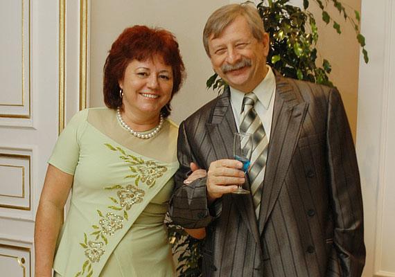 Várkonyi András 37 éve vezette oltár elé szerelmét, Máriát. A párnak tavaly már az első unokája is megszületett, aki a Balázs nevet kapta.