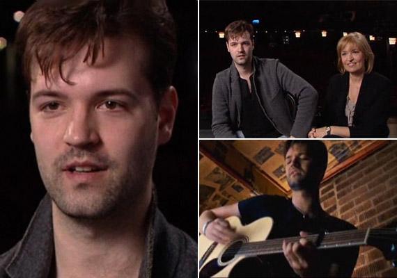 Ábrahám Edit felnőtt fia, Andorai Péter zenészként és színészként is egyaránt tehetséges.