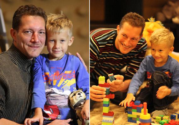Németh Kristóf és volt felesége, Nikolett 2007-ben kötötte össze az életét, kisfiuk, Lőrinc pedig az esküvő után néhány hónappal már meg is született.