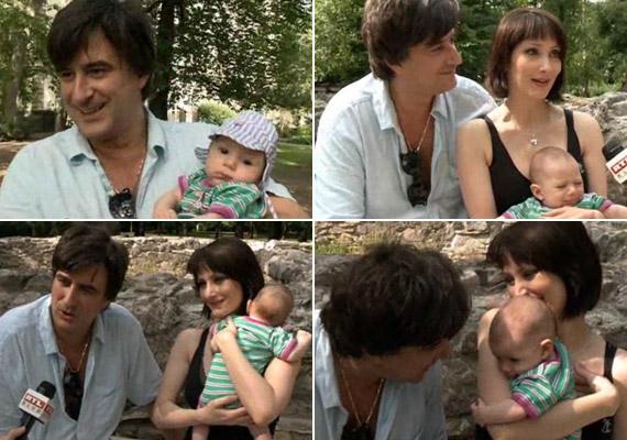 Tihanyi-Tóth Csaba 2004-ben vette feleségül szerelmét, Bognár Ritát, kisbabájuk, Nimród pedig tavaly áprilisban jött a világra.