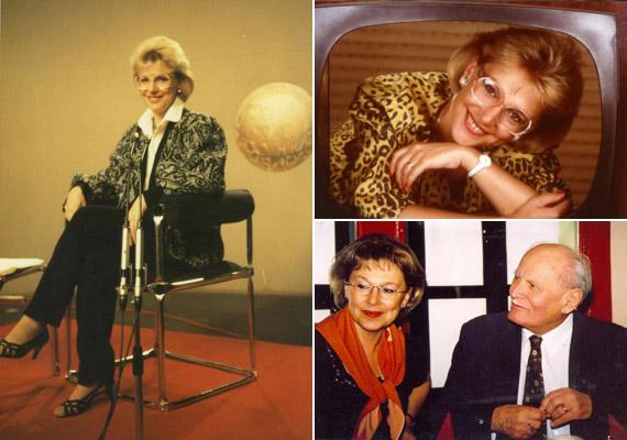 Nemcsak az első női híradós műsorvezető volt, híres riportalanyokkal is büszkélkedhetett. 1992 és 1994 között háromszor is elkísérte Göncz Árpád egykori köztársasági elnököt annak egyesült államokbeli és kanadai útjára.