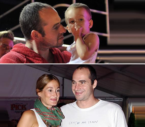 Epres Panni és Benedek Tibor 17 éve ismerik egymást, és kilenc éve élnek szerelemben - a sztárpár 2010 augusztusában házasodott össze.