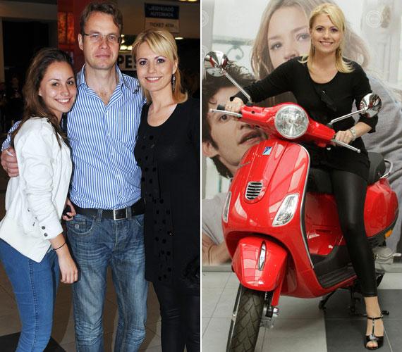 Június 4-én az MTVA által forgalmazott Felcsípve című film premierjén már, mint férj és feleség jelentek meg, de erről a jelenlévők mit sem sejthettek.