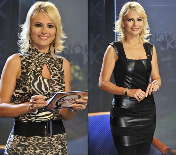 A csinos szőke tévés már több mint egy évtizede vezeti az M1-en az Önök kérték című műsort, míg a Duna TV-n a Kívánságkosár háziasszonya.