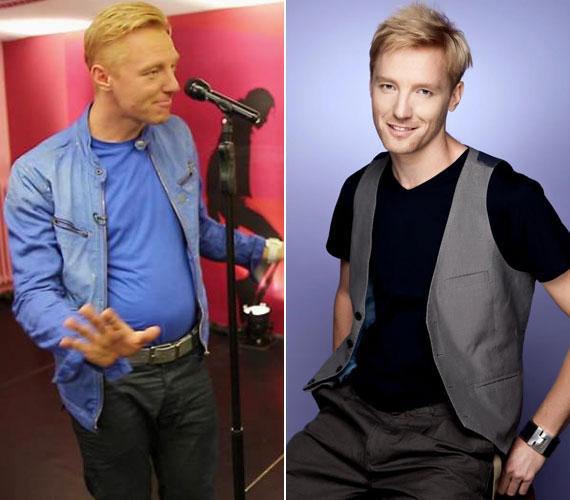 Bereczki Zoltán már nem az a vékony arcú, kölyökképű színész-énekes, aki egykor volt.