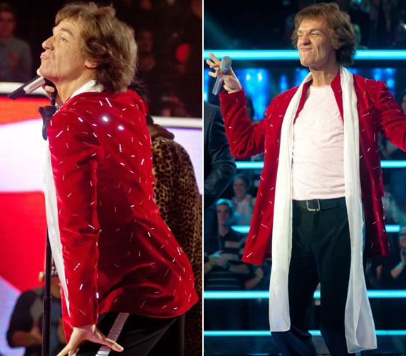 A harmadik átalakulása Mick Jaggerré, a The Rolling Stones énekesévé zseniálisra sikeredett - meg is kapta érte a maximális pontszámot.