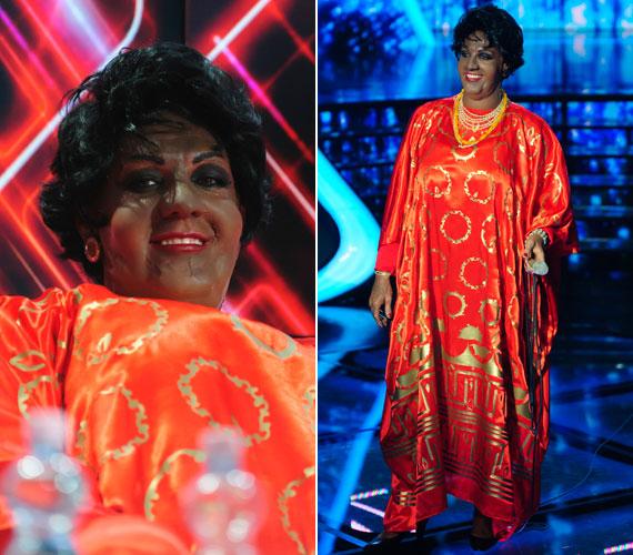 A döntő előtti hetedik adásban Aretha Franklinként a Respect című számmal állt színpadra - 40 pontra értékelték teljesítményét.