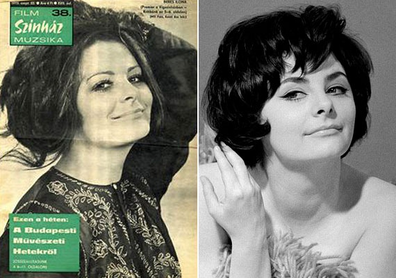 Cicásra húzott, igéző szemei szinte Elizabeth Taylor tekintetét idézik, nem csoda, hogy a színésznőért bolondultak a férfiak.