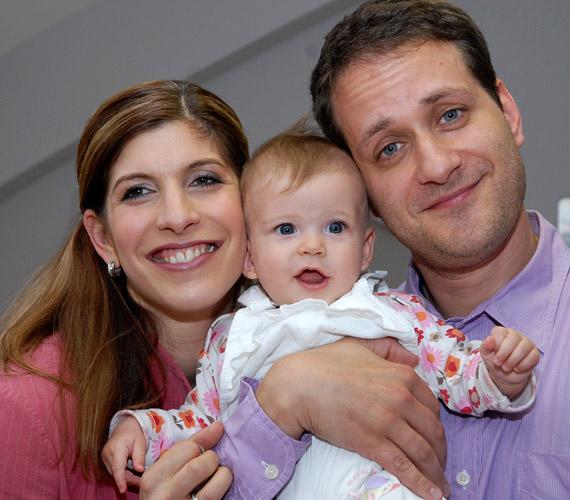 2009-ben jött világra a házaspár első gyermeke, Panna.