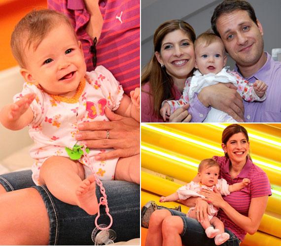A magánélete is harmonikus: 1996-ban ment feleségül Barna Krisztián fotóshoz. 2009 októberében lombikbébiprogram segítségével jött a világra kislányuk, Panna, akit hét hónapos korában mutatott meg a nézőknek.